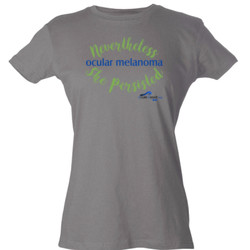 Nevertheless - Tultex - Ladies' Slim Fit Fine Jersey Tee (DTG)