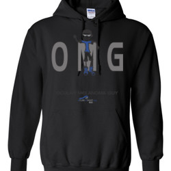 OM Guy2 - Gildan - 8 oz. 50/50 Hooded Sweatshirt - DTG