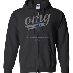 OM Guy3 - Gildan - Full Zip Hooded Sweatshirt - DTG