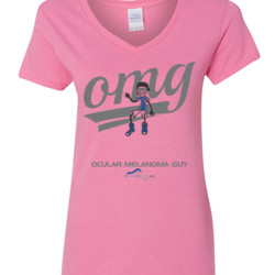 OM Guy3 - Gildan - 5V00L (DTG) - 100% Cotton V Neck T Shirt