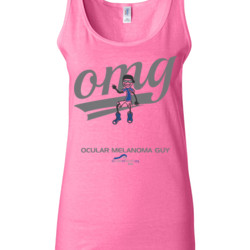 OM Guy3 - Gildan - 64200L (DTG) 4.5 oz Softstyle ® Junior Fit Tank Top