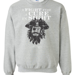 ACIS Pirate Design - Gildan - 8oz. 50/50 Crewneck Sweatshirt - DTG