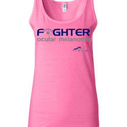 Fighter - Gildan - 64200L (DTG) 4.5 oz Softstyle ® Junior Fit Tank Top