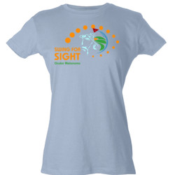 Swing For Sight - Tultex - Ladies' Slim Fit Fine Jersey Tee (DTG)