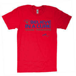 Eye Belive In A Cure - American Apparel - Unisex Fine Jersey T-Shirt - DTG