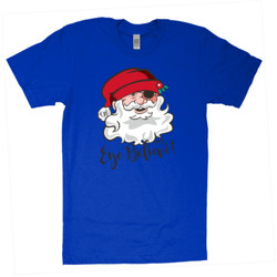 Eye Believe Holiday Shirt - American Apparel - Unisex Fine Jersey T-Shirt - DTG