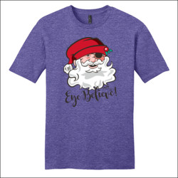 Eye Believe Holiday Shirt - District - Very Important Tee ® - DTG