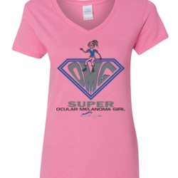 OM Girl - Gildan - 5V00L (DTG) - 100% Cotton V Neck T Shirt