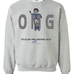OM Guy2 - Gildan - 8oz. 50/50 Crewneck Sweatshirt - DTG