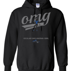 OM Girl3 - Gildan - 8 oz. 50/50 Hooded Sweatshirt - DTG