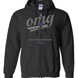 OM Girl3 - Gildan - Full Zip Hooded Sweatshirt - DTG