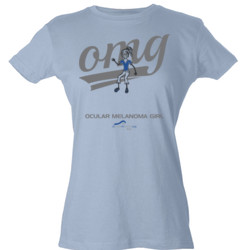 OM Girl3 - Tultex - Ladies' Slim Fit Fine Jersey Tee (DTG)