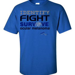 Identify-Fight-Survive - Gildan - 6.1oz 100% Cotton T Shirt - DTG