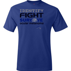 Identify-Fight-Survive - Hanes - TaglessT-Shirt - DTG