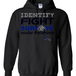 Identify-Fight-Survive - Gildan - 8 oz. 50/50 Hooded Sweatshirt - DTG