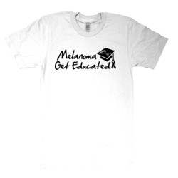 Get Educated - American Apparel - Unisex Fine Jersey T-Shirt - DTG