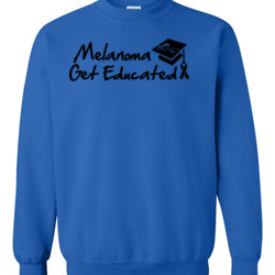 Get Educated - Gildan - 8oz. 50/50 Crewneck Sweatshirt - DTG