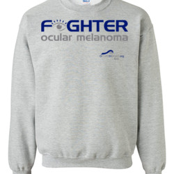 Fighter - Gildan - 8oz. 50/50 Crewneck Sweatshirt - DTG