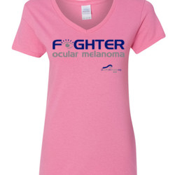 Fighter - Gildan - 5V00L (DTG) - 100% Cotton V Neck T Shirt