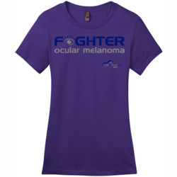 Fighter - District - DM104L (DTG) - Ladies Crew Tee