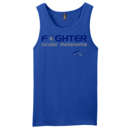 Fighter - District - Young Mens The Concert Tank ® (DTG)