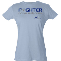 Fighter - Tultex - Ladies' Slim Fit Fine Jersey Tee (DTG)