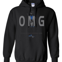 OM Girl2 - Gildan - 8 oz. 50/50 Hooded Sweatshirt - DTG