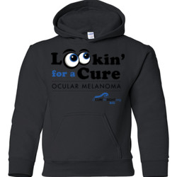 Looking For A Cure - Gildan - 18500B (DTG) - 50/50 Youth Hooded Sweatshirt