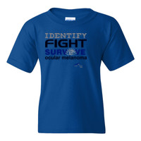Identify-Fight-Survive - Gildan - 5000B (DTG) - Youth 5.3oz 100% Cotton T Shirt