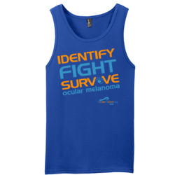 Identify-Fight-Survive - District - Young Mens The Concert Tank ® (DTG)
