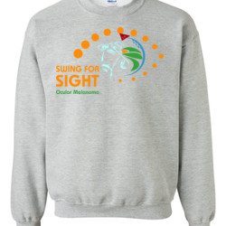 Swing For Sight - Gildan - 8oz. 50/50 Crewneck Sweatshirt - DTG