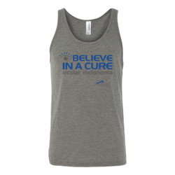 Eye Belive In A Cure - Bella Canvas - 3480 (DTG) - Unisex Jersey Tank