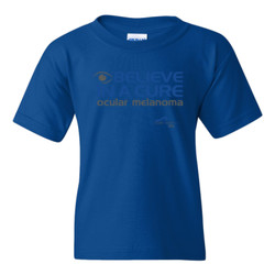 Eye Belive In A Cure - Gildan - 5000B (DTG) - Youth 5.3oz 100% Cotton T Shirt