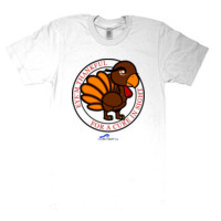 Eye'm Thankful For A Cure In Sight - American Apparel - Unisex Fine Jersey T-Shirt - DTG