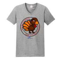 Eye'm Thankful For A Cure In Sight - Gildan - Softstyle ® V Neck T Shirt - DTG