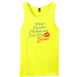 Kiss My Sass - District - Young Mens The Concert Tank ® (DTG)