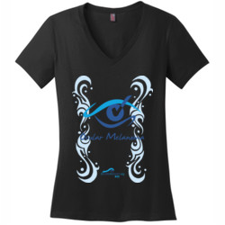 ACIS OM - District Made® - Ladies Perfect Weight® V-Neck Tee - DTG