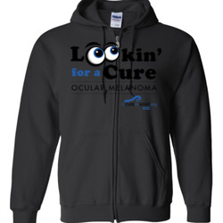Looking For A Cure - Gildan - Full Zip Hooded Sweatshirt - DTG