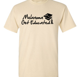 Get Educated - Gildan - 6.1oz 100% Cotton T Shirt - DTG