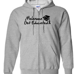 Get Educated - Gildan - Full Zip Hooded Sweatshirt - DTG