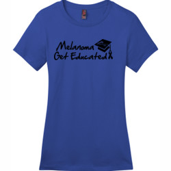Get Educated - District - DM104L (DTG) - Ladies Crew Tee