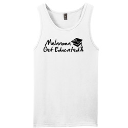 Get Educated - District - Young Mens The Concert Tank ® (DTG)
