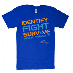 Identify-Fight-Survive - American Apparel - Unisex Fine Jersey T-Shirt - DTG