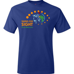 Swing For Sight - Hanes - TaglessT-Shirt - DTG