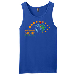 Swing For Sight - District - Young Mens The Concert Tank ® (DTG)