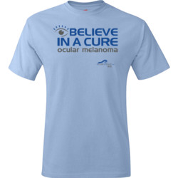Eye Belive In A Cure - Hanes - TaglessT-Shirt - DTG