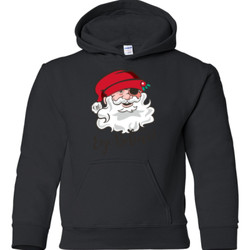 Eye Believe Holiday Shirt - Gildan - 18500B (DTG) - 50/50 Youth Hooded Sweatshirt