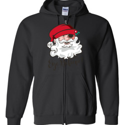 Eye Believe Holiday Shirt - Gildan - Full Zip Hooded Sweatshirt - DTG