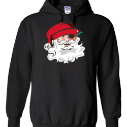 Eye Believe Holiday Shirt - Gildan - 8 oz. 50/50 Hooded Sweatshirt - DTG