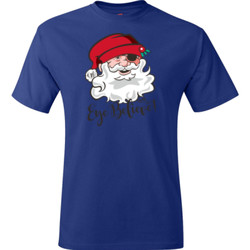 Eye Believe Holiday Shirt - Hanes - TaglessT-Shirt - DTG
